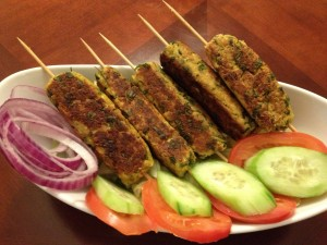 veg kabob